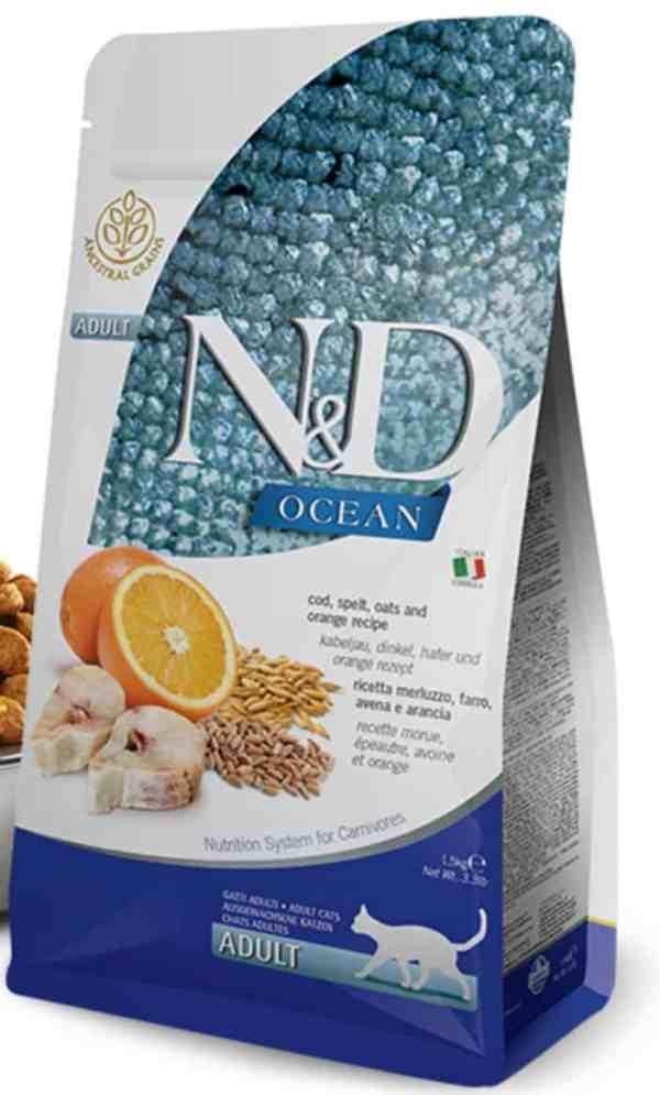 Farmina N&D Ocean Cod Spelt Orange 11 pounds