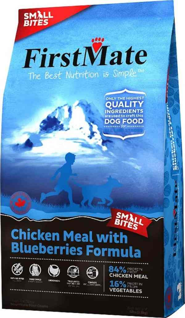 FirstMate Chicken and Blueberries Small Bites Front of Bag