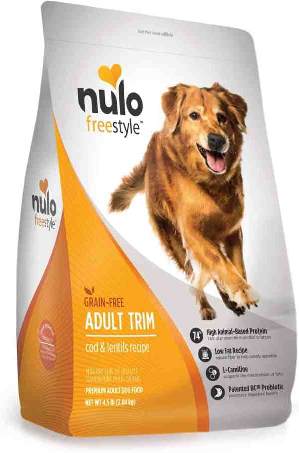 Nulo Adult Trim Cod & Lentil Front of Bag