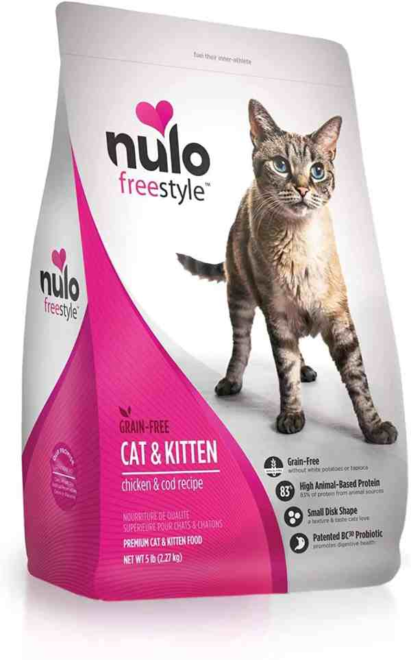 Nulo Cat & Kitten Food Front of Bag