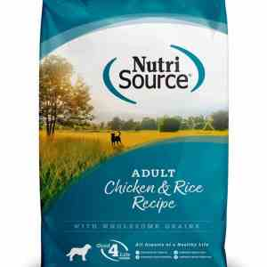 Nutri Source Chicken & Rice Front of Bag