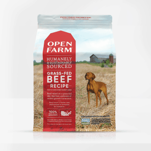 Open Farm Beef Dog Food Front of Bag