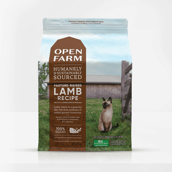 Open Farm Lamb Front of Bag
