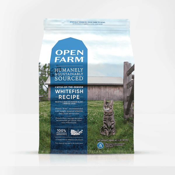 Open Farm Whitefish Front of Bag