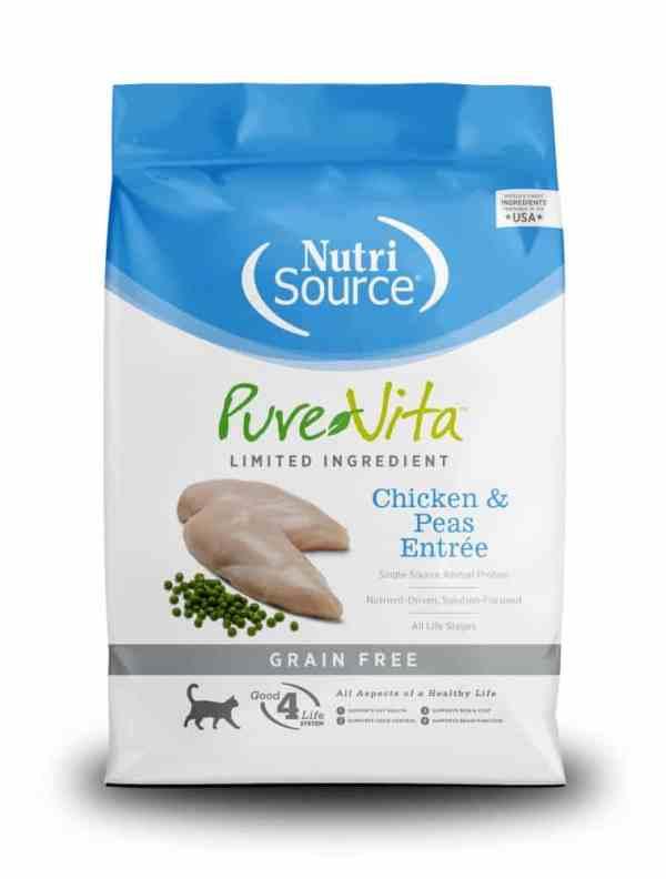Pure Vita Chicken & Peas Front of Bag