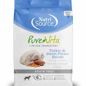 PureVita Turkey & Sweet Potato Front of Bag