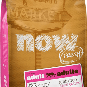 Now Adult Cat Food Front of Bag