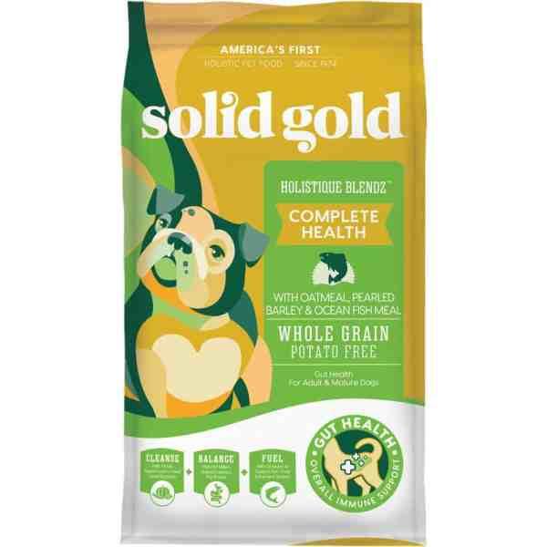 Solid Gold Holistique Blendz Front of Bag