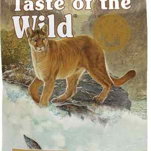 Taste of the Wild Canyon River Front of Bag