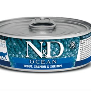 Farmina trout salmon shrimp cat canned food
