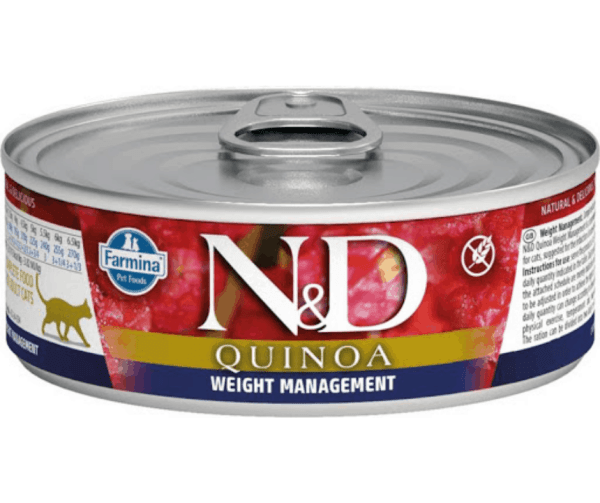 Farmina ND weight management canned cat food 2.8oz