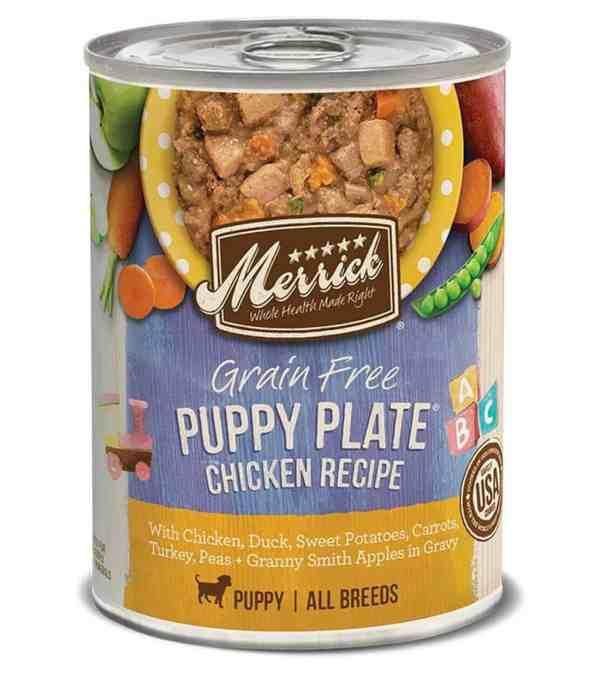 Merrick puppy plate chicken recipe 12.7oz