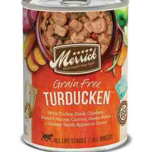 Merrick turducken canned dog food 12.7oz