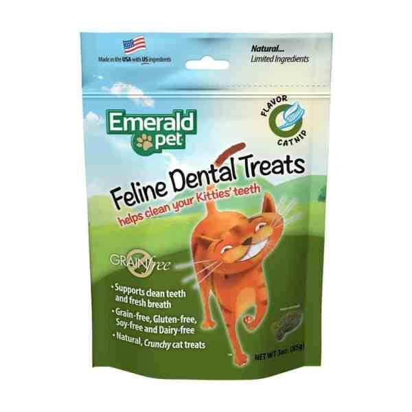 Emerald Pets Cat Catnip Dental Treats