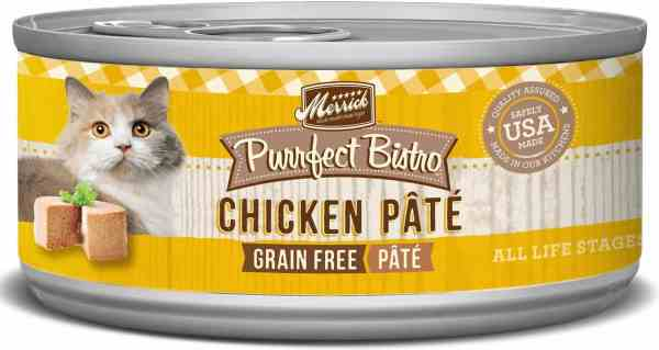 Merrick chicken recipe canned cat food 5.5oz