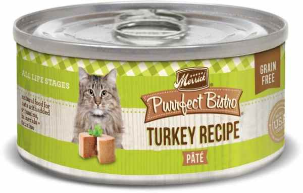 Merrick Turkey recipe canned cat food 5.5oz