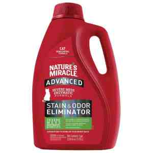 Nature's Miracle Advanced cat stain odor remover
