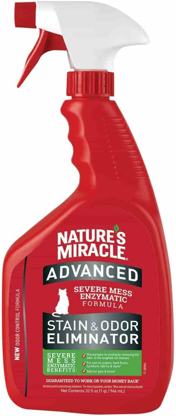 Nature's miracle advanced cat stain and odor remover 32oz