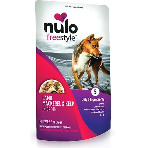 Nulo lamb mackerel kelp 2.8oz wet dog food