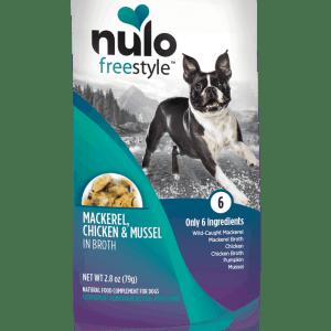 Nulo Mackerel chicken mussel 2.8oz wet dog food