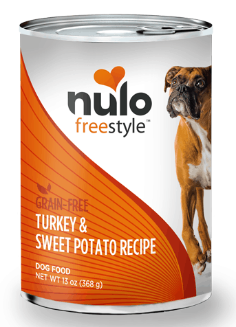 Nulo Turkey sweet potato canned dog food 13oz