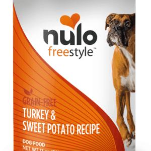 Nulo Turkey sweet potato canned dog food 13oz