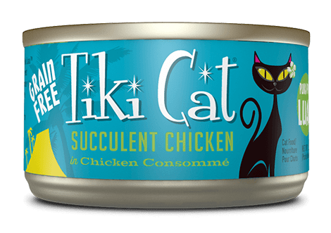 Tiki cat chicken canned cat food 2.8oz