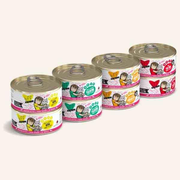 Weruva BFF Batch o Besties 8-pack canned cat food 5.5oz