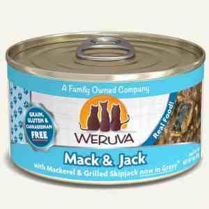 Weruva mack and jack canned cat food