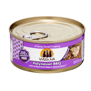 Weruva polynesian bbq 5.5oz canned cat food