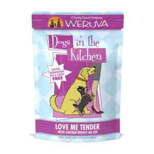 Weruva love me tender 2.8oz wet dog food
