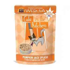 Weruva pumpkin jack splash wet cat food pouch 3oz