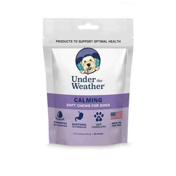 Under the weather calming soft chews