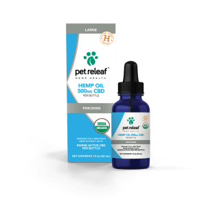 Pet Releaf 500mg CBD Hemp Oil
