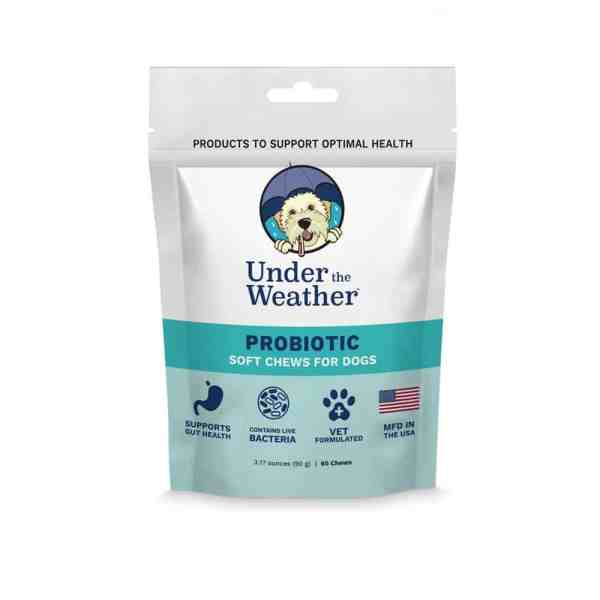 Under the Weather probiotic 60 soft chews