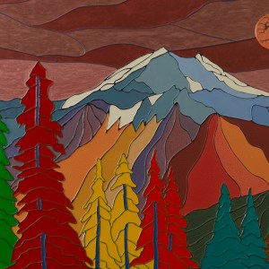 Autumn Mountains - Colorist Art - Laurentian Collection 3-1-1 #3