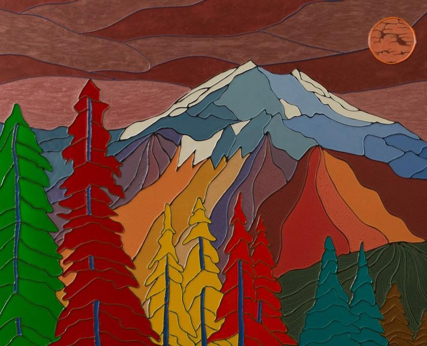 Autumn Mountains - Colorist Art - Laurentian Collection 3-1-1 #3