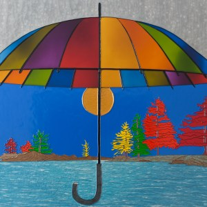 Between Two Seasons - Entre deux saisons - 48 in. x 36 in. x 1.5 in. - 122 cm. x 91 cm. x 4 cm.