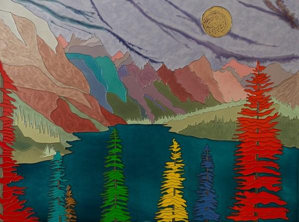Moraine Lake - Colorist Art - Laurentian Collection 3-1-1 #1