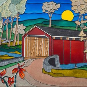 The Covered Bridge - Colorist Art - Algonquin Collection 3-1-2 #6