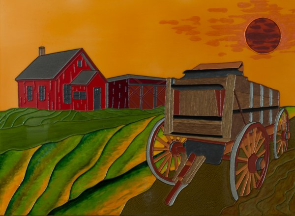 The Wagon - Colorist Art - Laurentian Collection 3-1-1 #7