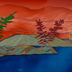 Devil's Mountain #2 - Montagne du diable #2 - 20 in. x 40 in. x 1.5 in. - 51 cm x 102 cm x 4 cm