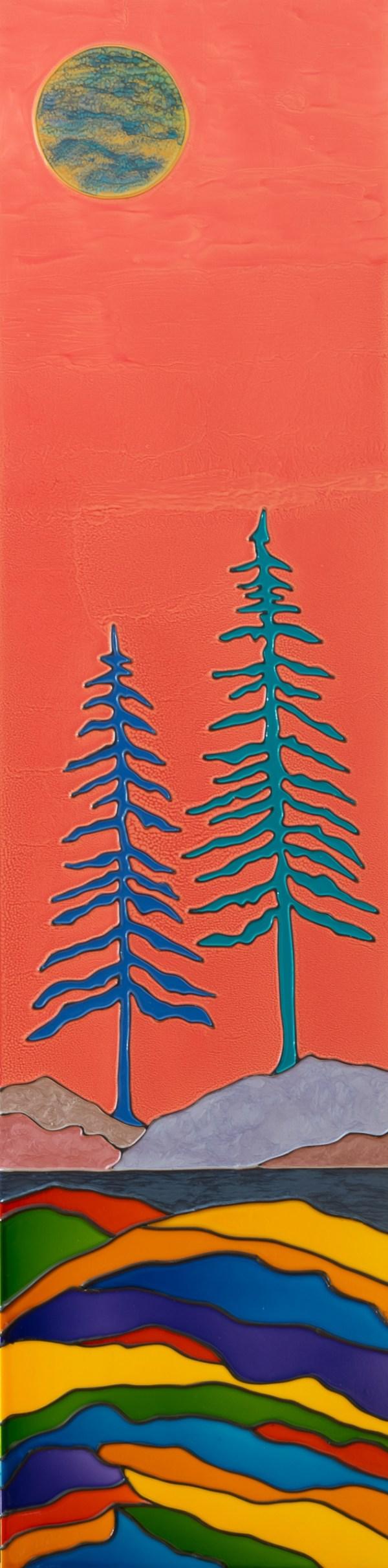 Colorist Tree No.5 - Arbre coloriste No.5