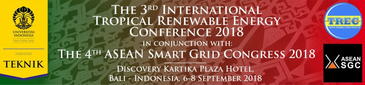 The 3rd International Tropical Renewable Energy Conference 2018