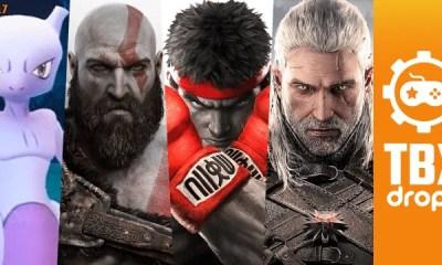 Eis o post mais aguardado do seu sábado:TBX Drops, trazendo pra você tudo que rolou de mais importante durante a semana no mundo dos games!