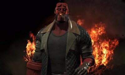 A mais nova DLC para o game de luta Injustice 2 trará como lutadores os personagens Raiden, Arraia Negra e Hellboy, sendo este último o grande destaque.