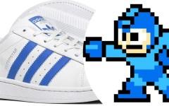 Moda | Artista recria tênis da Adidas com tema de Megaman. Confira!