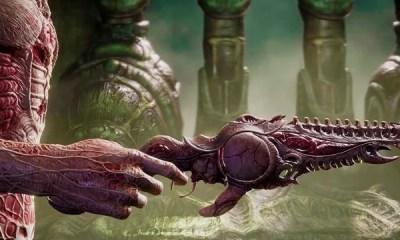 Game de horror no formato FPS, Scorn, ganha novo trailer focado na jogabilidade. A produtora está buscando fundos para concluir o título. Saiba mais.