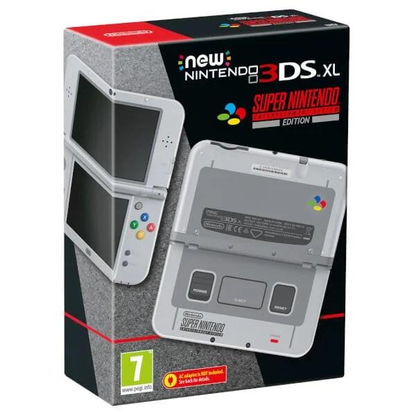 New Nintendo 3DS XL ganha versão com visual do Super Nintendo