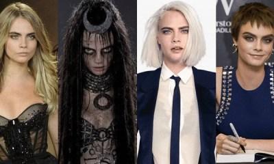 As quatro faces de Cara Delevingne
